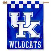 University of Kentucky Checkerboard Logo House Flag