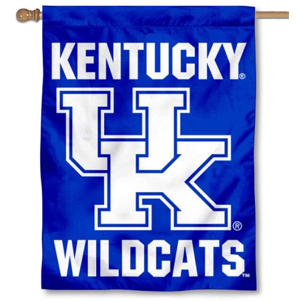 University of Kentucky Logo House Flag