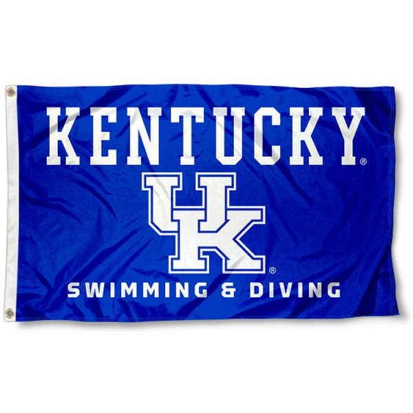 University of Kentucky Swim and Dive Team Flag