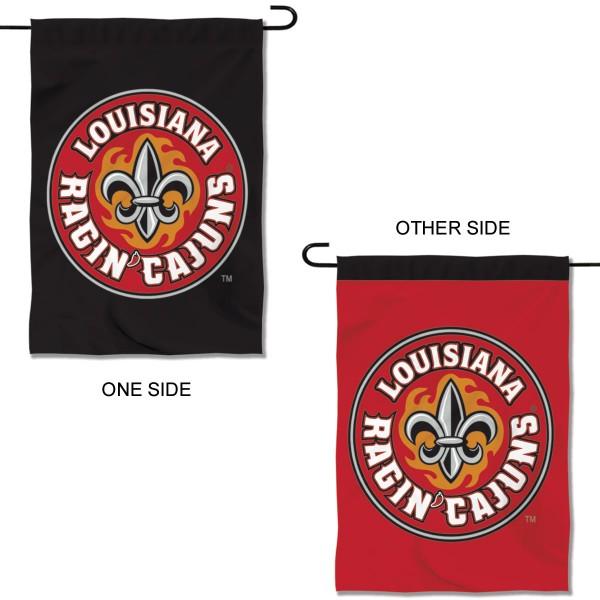 University of Louisiana at Lafayette Ragin Cajuns Double Sided Garden Flag