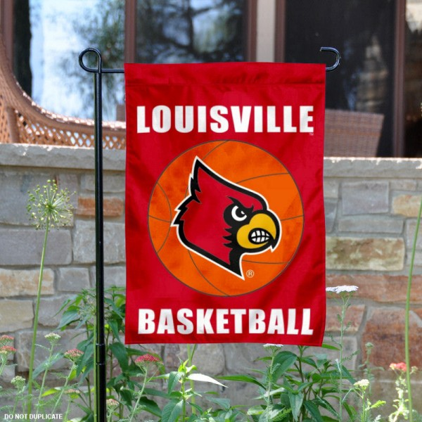 University of Louisville Basketball Garden Flag