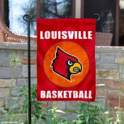 University of Louisville Basketball Garden Flag