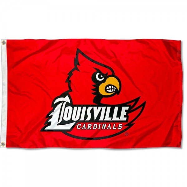 University of Louisville Cardinals Flag