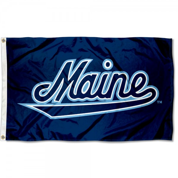 University of Maine Script Flag