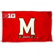 University of Maryland Big 10 Flag