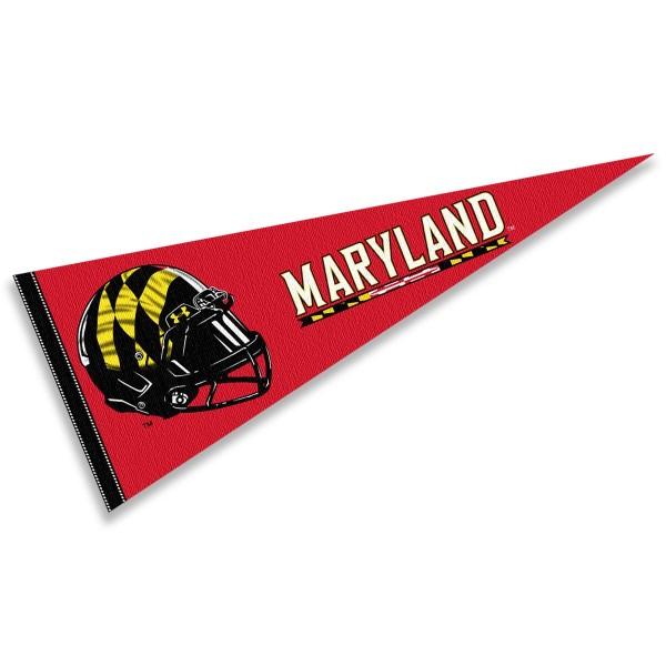 University of Maryland Football Helmet Pennant