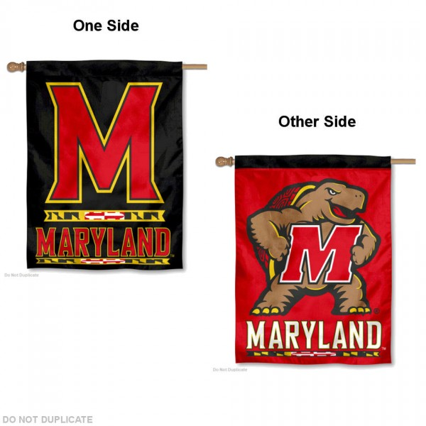 University of Maryland Logo House Flag