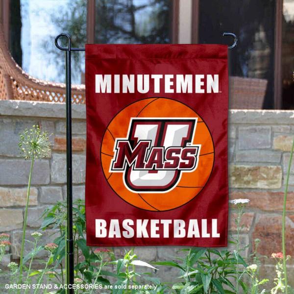 University of Massachusetts Basketball Garden Flag
