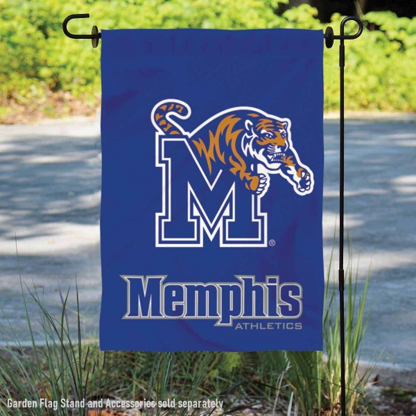 University of Memphis Tigers Double Sided Garden Flag