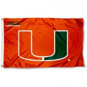 University of Miami ACC Flag