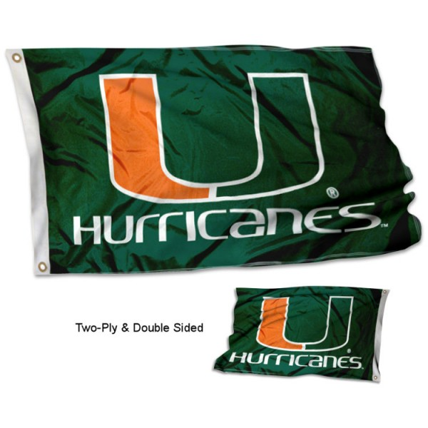 University of Miami Flag - Stadium