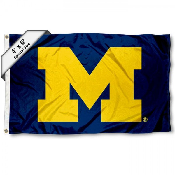 University of Michigan 4'x6' Flag