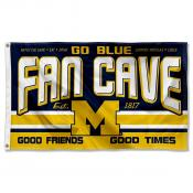 University of Michigan Wolverines Man Cave Dorm Room 3x5 Banner Flag