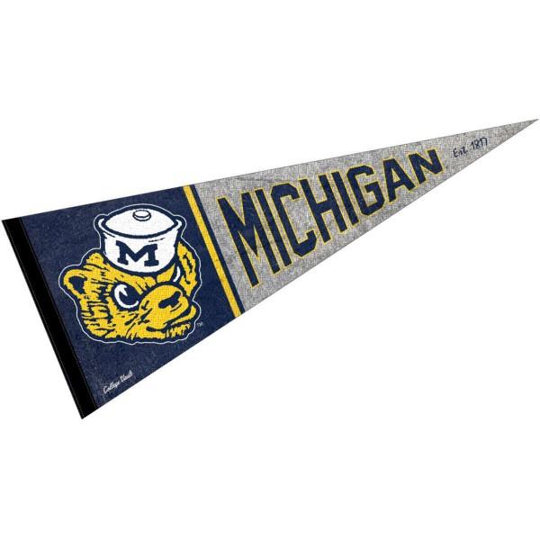 University of Michigan Wolverines Pennant