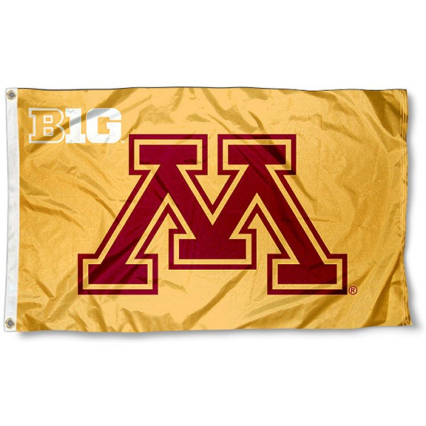 University of Minnesota Big 10 Flag