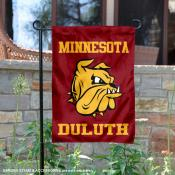 University of Minnesota Duluth Bulldogs Logo Garden Banner
