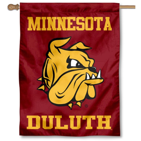 University of Minnesota Duluth Logo House Flag