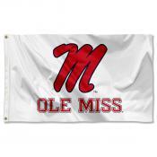 University of Mississippi Banner Flag
