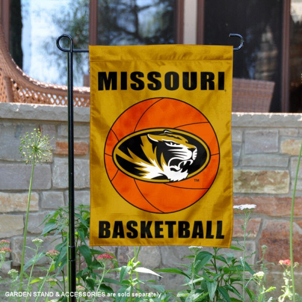 University of Missouri Basketball Garden Flag