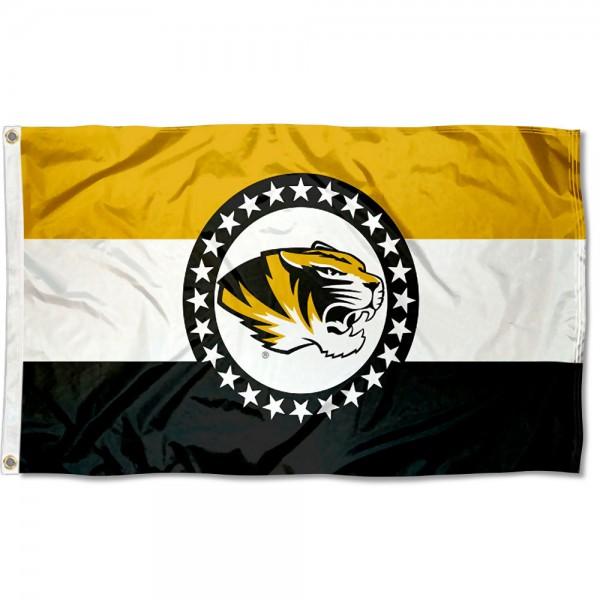 University of Missouri MO Logo Flag