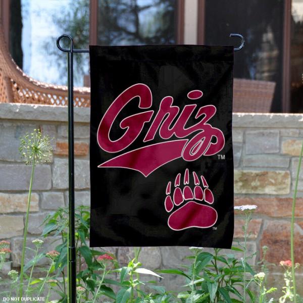 University of Montana Griz Garden Flag
