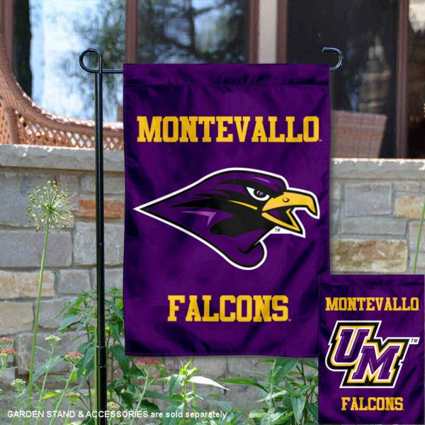 University of Montevallo Dual Logo Double Sided Garden Flag