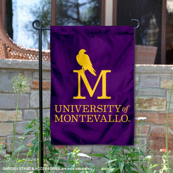 University of Montevallo Insignia Double Sided Garden Flag