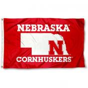 University of Nebraska State Logo Flag