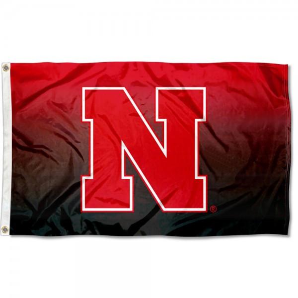 University of Nebraska Two Tone Color Flag