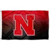 University of Nebraska Two Tone Color Flag