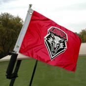 University of New Mexico Golf Cart Flag