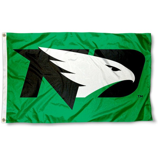 University of North Dakota New Hawks Flag
