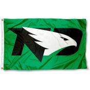 University of North Dakota New Hawks Flag
