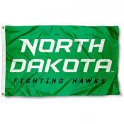 University of North Dakota Wordmark Flag