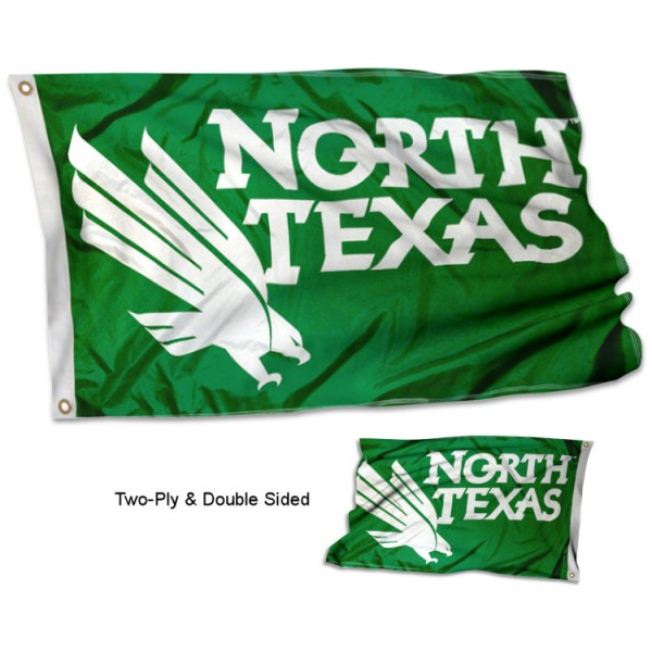 University of North Texas Flag - Stadium