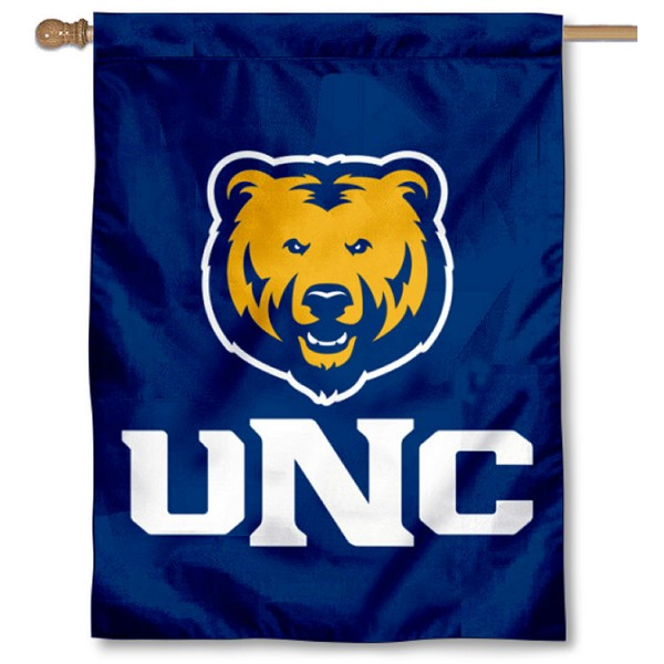University of Northern Colorado Logo House Flag