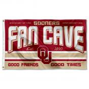 University of Oklahoma Sooners Man Cave Dorm Room 3x5 Banner Flag