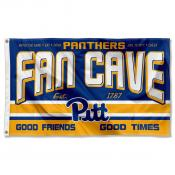 University of Pittsburgh Panthers Man Cave Dorm Room 3x5 Banner Flag