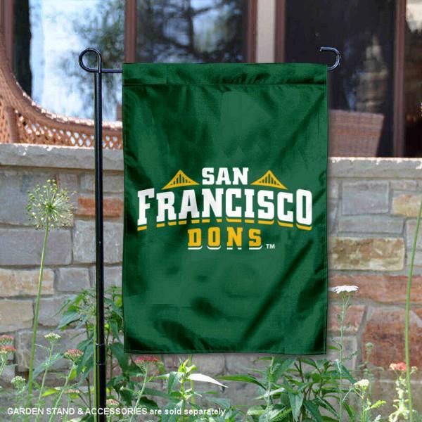 University of San Francisco Double Sided Garden Flag