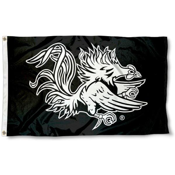 University of South Carolina Gamecock Logo Flag