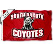 University of South Dakota Coyotes Logo 6x10 Foot Flag