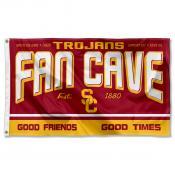 University of Southern California Trojans Man Cave Dorm Room 3x5 Banner Flag