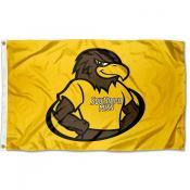 University of Southern Mississippi Mascot Logo Flag