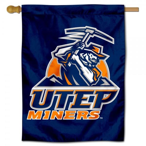 University of Texas El Paso House Flag