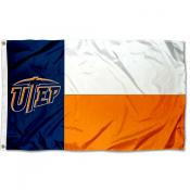 University of Texas El Paso State of Texas Flag