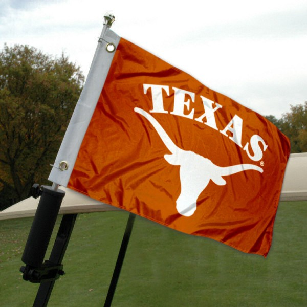 University of Texas Golf Cart Flag