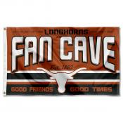 University of Texas Longhorns Man Cave Dorm Room 3x5 Banner Flag