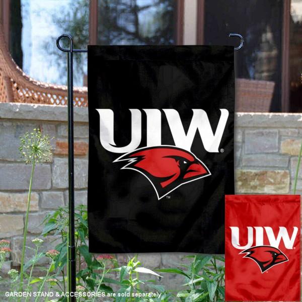 University of the Incarnate Word Dual Logo Double Sided Garden Flag