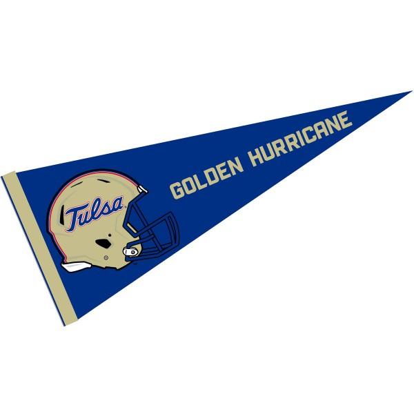 University of Tulsa Football Helmet Pennant