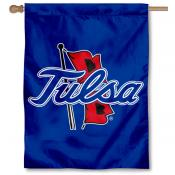 University of Tulsa Logo House Flag